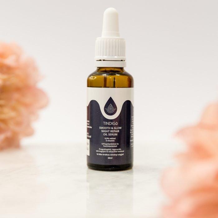 Tindigo Smooth & Glow Night Repair Oil Serum