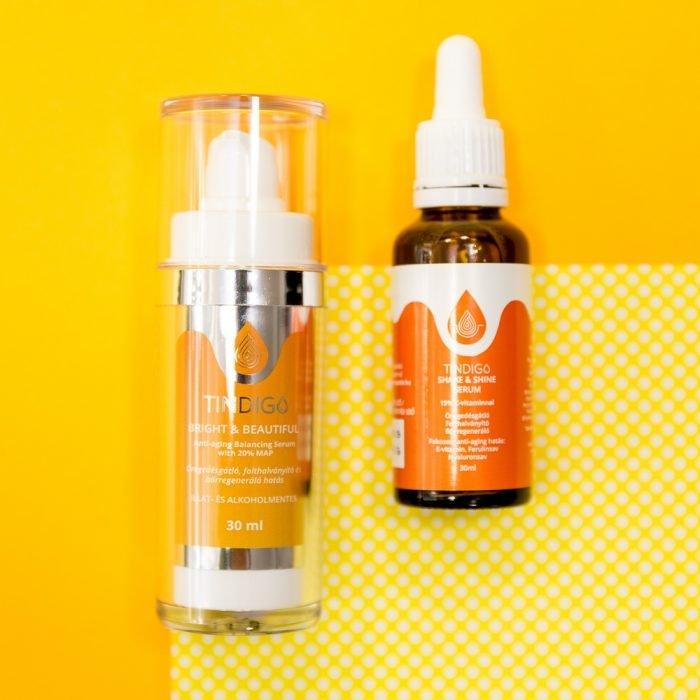 Tindigo Shake & Shine Anti-Aging Serum 15% C-vitaminnal