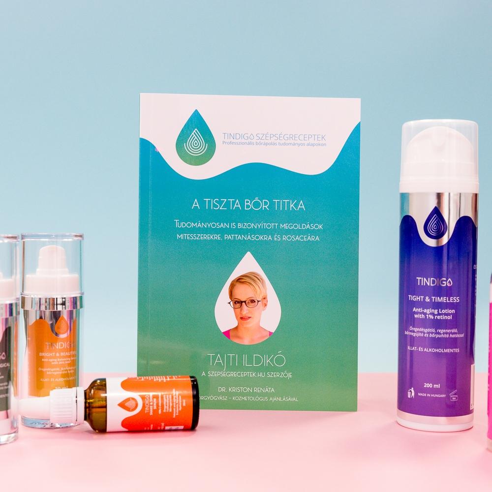 A tiszta bőr titka - Tudományosan is bizonyított megoldások mitesszerekre, pattanásokra és rosaceára