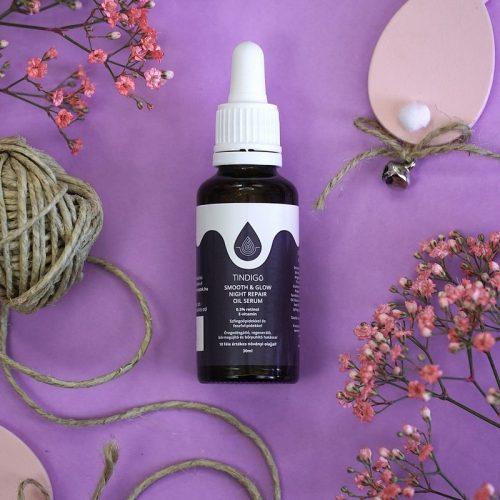 Tindigo Smooth & Glow Night Repair Oil Serum with 0,5% Retinol